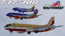 Southwest Airlines Boeing 737-3H4(s) Minecraft