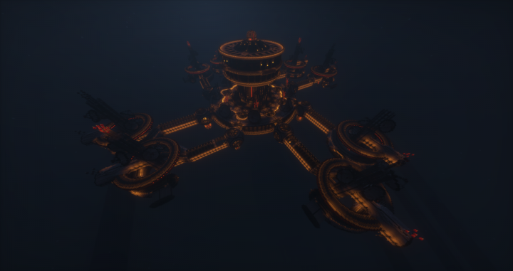 Space Station of the Hub World - Travel to one of our many worlds!