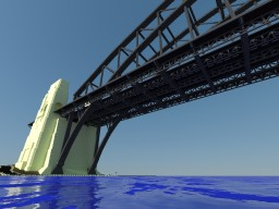 Sydney Harbour Bridge  2 Blocks per M Minecraft Map & Project