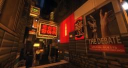 "Cyberpunk / Sci-Fi World ""Frontier"" Minecraft Project"