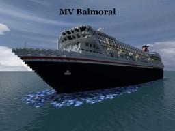 MV Balmoral Minecraft Map & Project