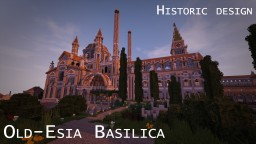 Fully detailed Basilica - 1:1 scale historic design Minecraft Project