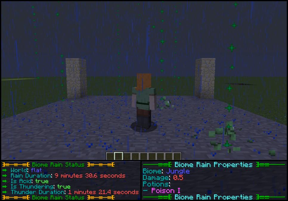 Plugin] Acid Rain [1 7 x - 1 12 x] Minecraft Mod