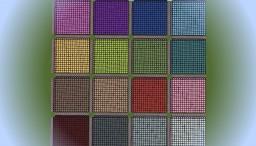 Glazed Terracotta Patterns Minecraft Project