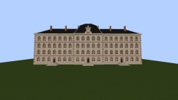 Reproduction of the school of officers of the national gendarmerie of Melun Minecraft