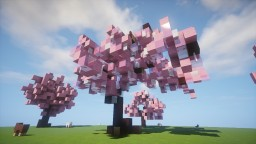 Holycube² Sakura Custom Tree Bunble Minecraft Project
