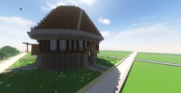 Medival spawn/Arena/house Minecraft Project
