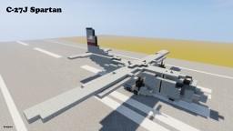 Alenia C-27J Spartan U.S Air Force 1,5:1 Minecraft Project