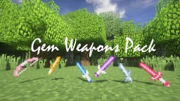 Gem Weapons Pack 🏹💎⚔️ Minecraft