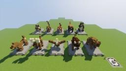 *Asia Update* World Animal Statues Minecraft