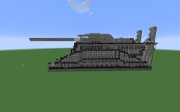 Schwerer Gustav (World War 2) Minecraft Project