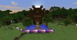 Nordic One Chunk Build Minecraft Project
