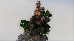 House on the cliff [51x51] Plot #23 Minecraft Project