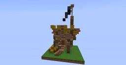Pirate Hut Minecraft Project