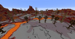 magma world Minecraft Map & Project