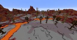 magma world Minecraft Project