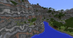european costal map Minecraft Project