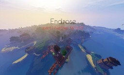 Endrose Adventure (RPG map) 1.8.9 Русская версия. Minecraft Map & Project