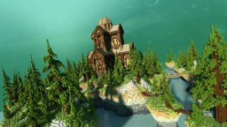 Forest Palace Minecraft Map & Project