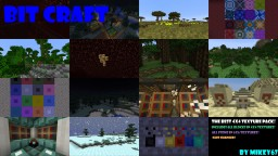 Bit craft Minecraft Texture Pack