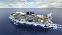 Cruise Ship - Msc Seaside [ 1:1 SCALE ] - Exterior Only { + Download } Minecraft Project