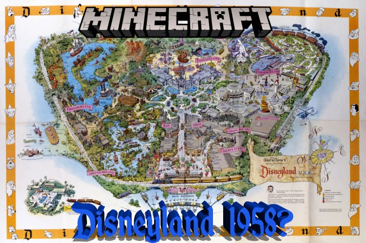 Disneyland 1958 Minecraft Project on