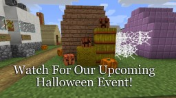 Halloween Event Announcement Minecraft Map & Project