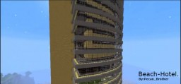 Beach Hotel Minecraft Project