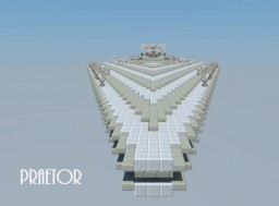 Praetor-Class Battlecruiser Minecraft Map & Project