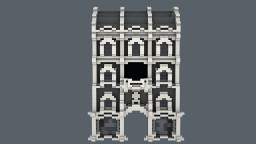 Gray Tenement House Minecraft