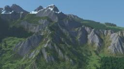 Mountain Valley 3k v2 (probably my best landscape yet) Minecraft Project