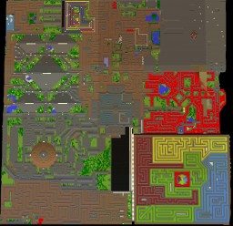 Sanctuary Corporation: Puzzle Maze Minecraft Map & Project