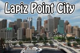 Lapiz Point - Modern City | TRS - Now with download! Minecraft Map & Project