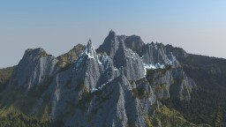 Mountains + 20 pictures Minecraft Project