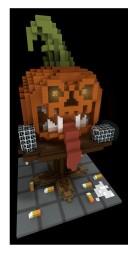 Pumpkin Build Minecraft Project