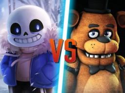Undertale vs Five Nights at Freddy's | Indie Games Clash! Minecraft Blog Post