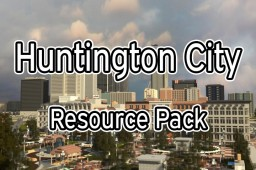 [64x] Huntington City |  Resource pack (v1.7.4 July 2016 MC 1.10) Minecraft Texture Pack