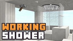 WORKING SHOWER! Minecraft Blog Post