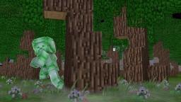 Auf dieser Map gibt es den Grünen Steve Minecraft Map & Project