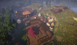 Medieval Tourney Grounds [Conquest Reforged] Minecraft Project