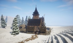 Small Nordic Monastery [Conquest Reforged] Minecraft Project