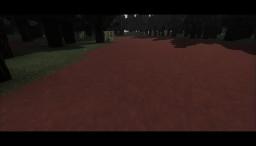 Beautiful Red Path Swirl Minecraft Project