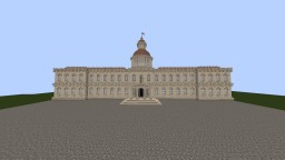 Small European palace Minecraft