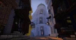 Diagon Alley on PotterworldMC Minecraft Map & Project