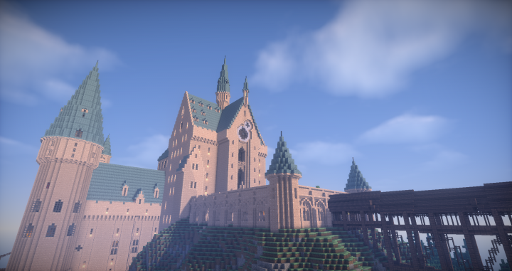 Hogwarts Castle On Potterworldmc Minecraft Project