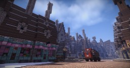 Hogsmeade on PotterworldMC Minecraft Project