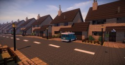 Privet Drive on PotterworldMC Minecraft Map & Project