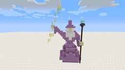 Wizard Statue: Vanilla Build Minecraft