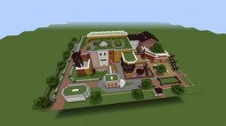 a house model on ghibli-museum Minecraft Project