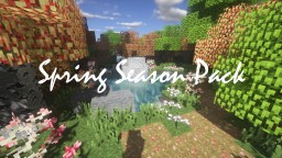 Spring Season Pack 🌸🐦🍑 Minecraft